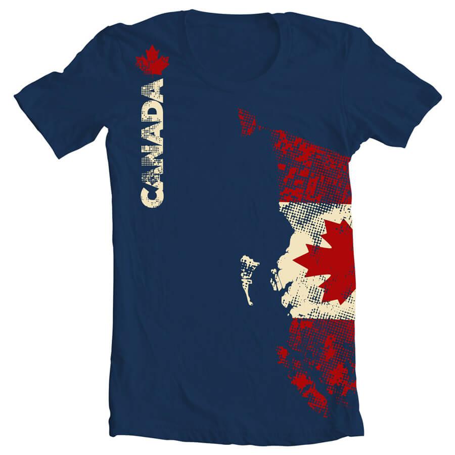 Shirt design canada - Apparel Design